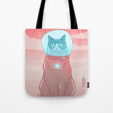 Astronaut Cat Tote Bag