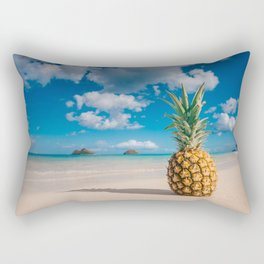 Pineapple and the Mokes Rectangular Pillow
