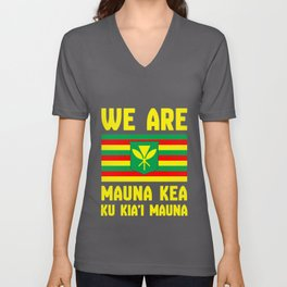 We Are Mauna Kea Unisex V-Neck