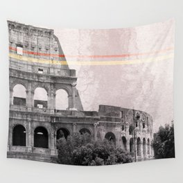 Colosseum Rome Italy Wall Tapestry