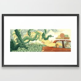 Singing Ventura Highway Framed Art Print