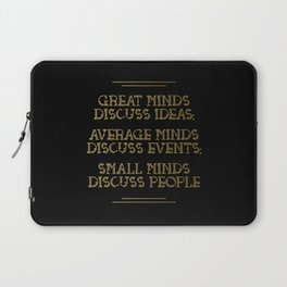 Great Minds Laptop Sleeve