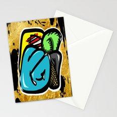 Digital Abstract Graffiti #1 Stationery Cards