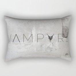 Vampyre Snow Rectangular Pillow