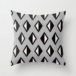 Diamond Pattern Gray 961 Throw Pillow