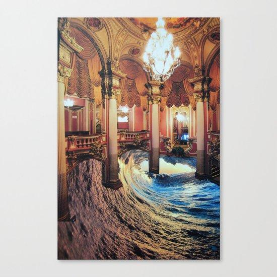 Grand Waveroom Canvas Print