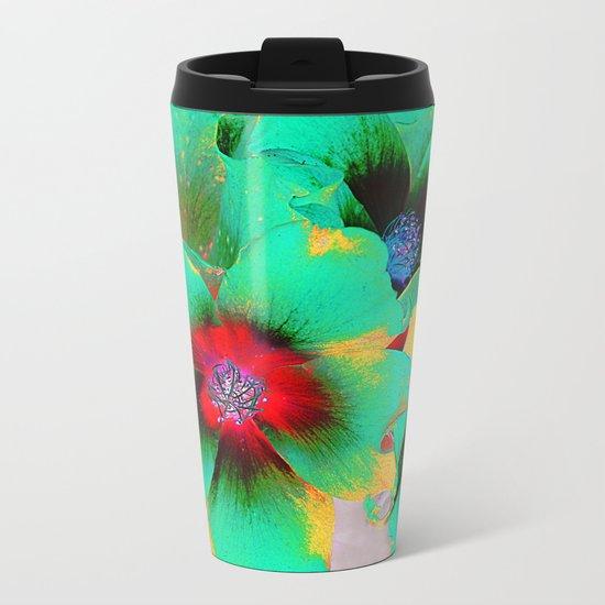 flowers in colors 98 Metal Travel Mug