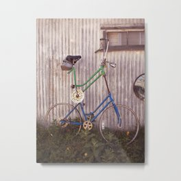 Tall Bike Metal Print