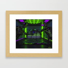 The Container Framed Art Print