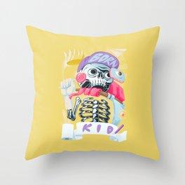 Born to kid Throw Pillow