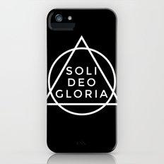 THE FIVE SOLAS: SOLI DEO GLORIA Slim Case iPhone SE