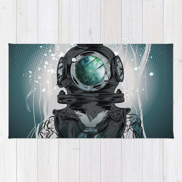 Deep Space Diver Rug