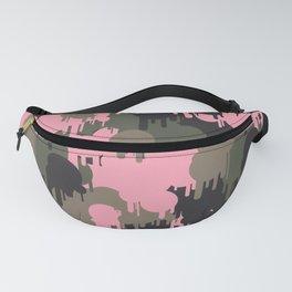 Graffiti Pink Camo Pattern Fanny Pack