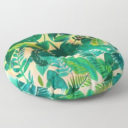 Jungle Leaf Floor Pillow