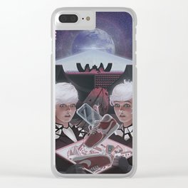 AFTER THE FUTURE Clear iPhone Case