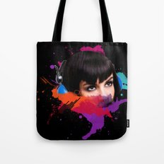 sexy stereo::famke Tote Bag