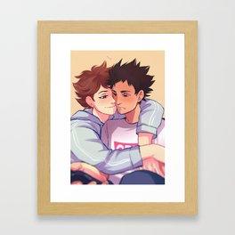 Go Awayyy Framed Art Print