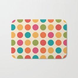Mid Century Color Dots Bath Mat