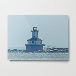 Indian Head Lighthouse PEI Metal Print