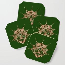 Copper Frog Grass Coaster