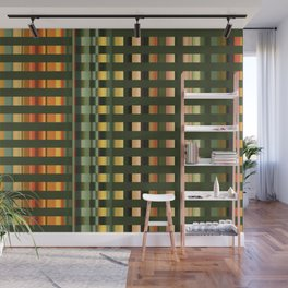 Pattern rectangle color multi I Wall Mural