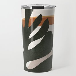Abstract Plant Life I Travel Mug