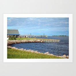 Beautiful Seaside View Art Print
