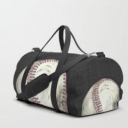 Vintage Baseball Art Duffle Bag