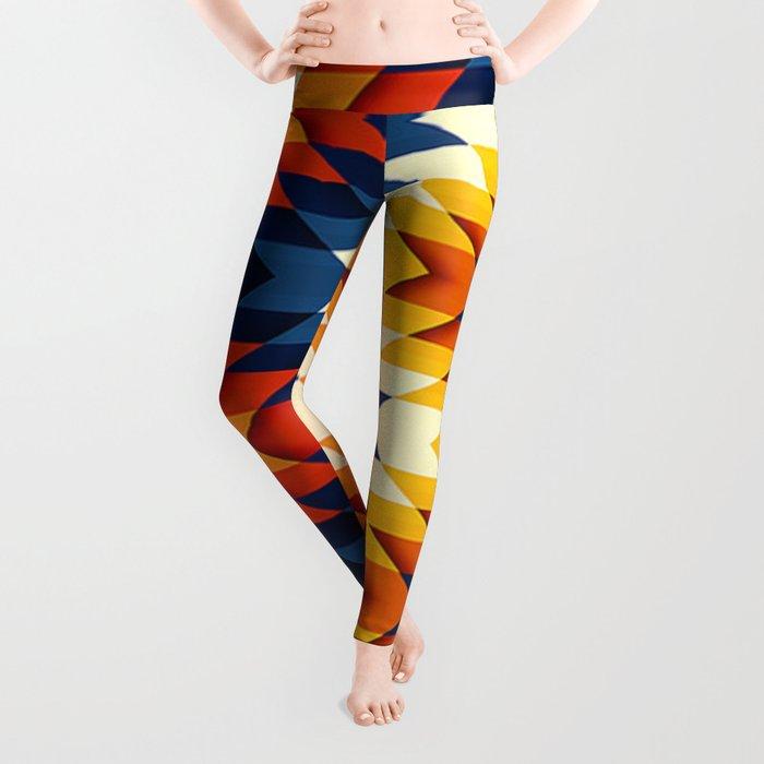 Wanderlust pattern Leggings