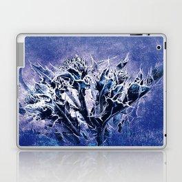 Thistle and Weeds_deep purple Laptop & iPad Skin