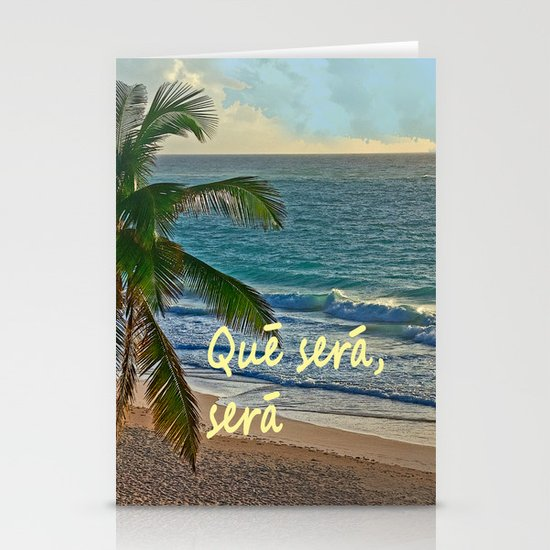 QUE SERA, SERA Stationery Cards