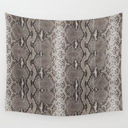 Python Snakeskin Print Wall Tapestry