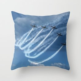 Brave Five Throw Pillow