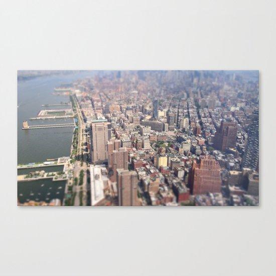 Tiny City - New York City Canvas Print