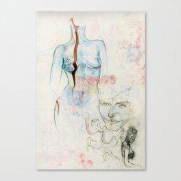 Bleeding Canvas Print