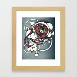 Bio_Eye2 Framed Art Print