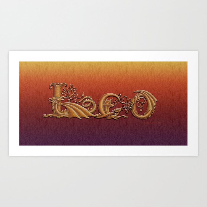 Drascoserific Leo Art Print