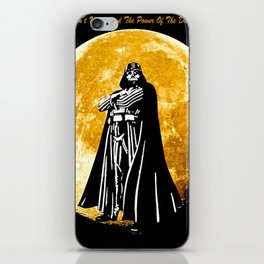 The Power of the Dark Side iPhone Skin