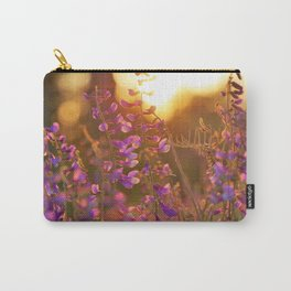 Spring Photography - Verbenas In The Sunset Carry-All Pouch