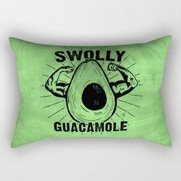 Swolly Guacamole Rectangular Pillow
