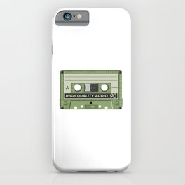 Old School Cassette Tape iPhone Case