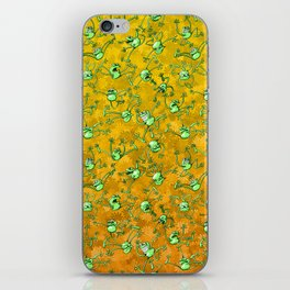 Frog Festival iPhone Skin