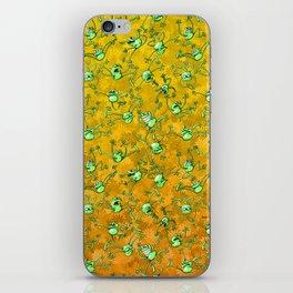 Frog Festival iPhone Skin