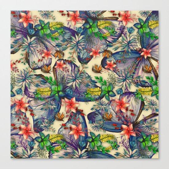 My Tropical Garden 10 Canvas Print