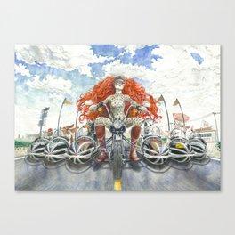 Sidecar perra Canvas Print