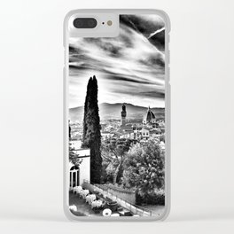 View of Firenze Duomo Clear iPhone Case