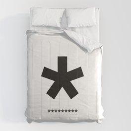 Helvetica Typoster #3 Comforters