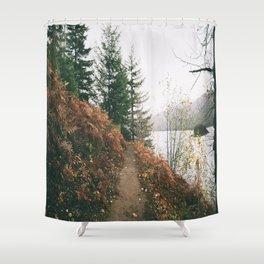 Happy Trails XVI Shower Curtain