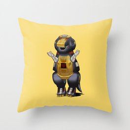 Barneybot Throw Pillow