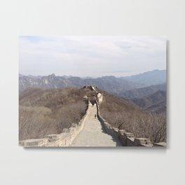 Great Wall I Metal Print